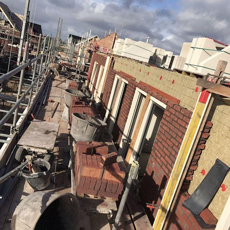 Gevelisolatie Nieuwbouw - D-Tech Bouwgroep Amsterdam Diemen