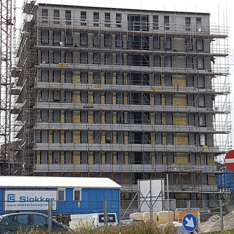 Isolatie flatgebouw - D-Tech Bouwgroep Amsterdam Diemen