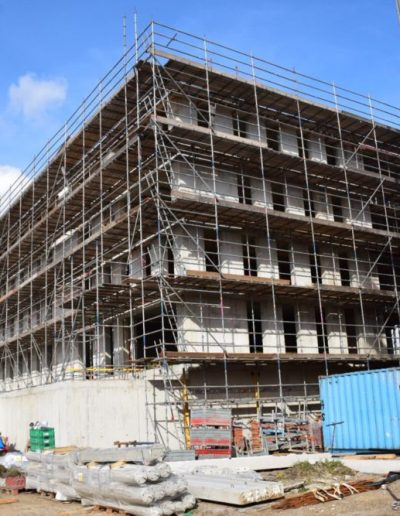 Isolatie flatgebouw Purmerend - D-Tech Bouwgroep