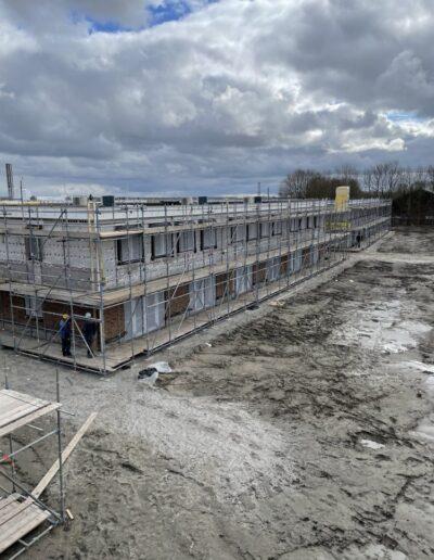 Isolatieproject D-Tech Bouwgroep Almere