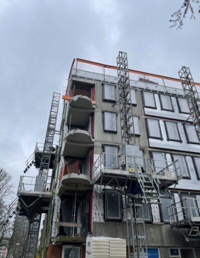 Isolatieproject D-Tech Bouwgroep Amsterdam Oost